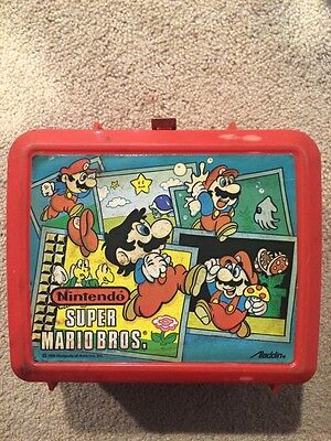 Super Mario Bros Lunchbox With Thermos!