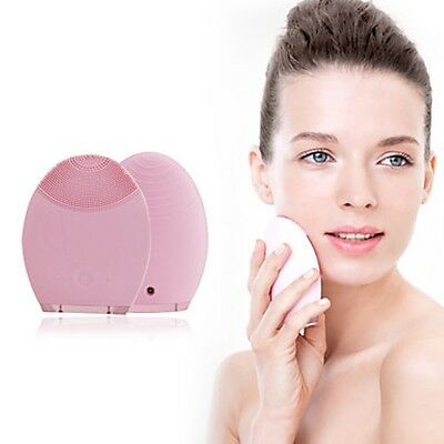 Hancutie SK-1179 Electronic Ultrasound Vibration Silicone Super Soft Cleansing