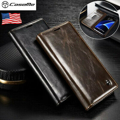 For Samsung Galaxy S7 Edge /S7 Leather Case Wallet Card Holder Flip Cover Stand