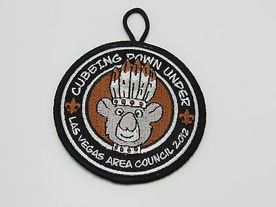 2012 Cub Summer Day Camp Patch Las Vegas Area Council BSA Boy Scouts of America