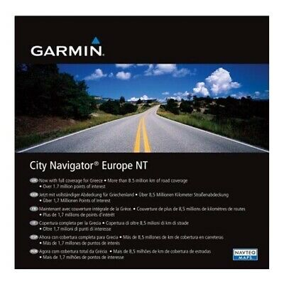 Garmin Europe City Nav Maps DVD With GARMIN AUST WARRANTY