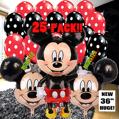 NEW Mickey Mouse Birthday Party Balloons Balloon Minnie Disney boy baby shower