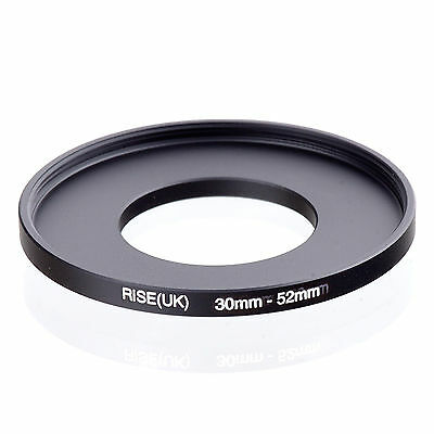 30mm to 52mm 30-52 30-52mm30mm-52mm Stepping Step Up Filter Ring Adapter