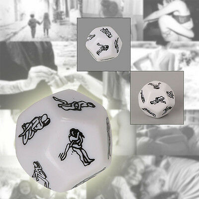Sex Dice Love Naughty Gift Joke Saucy Adult Fun F**K Game Romance Wedding Toys