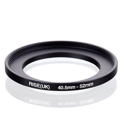 40.5mm to 52mm 40.5-52 40.5-52mm40.5mm-52mm Stepping Step Up Filter Ring Adapter