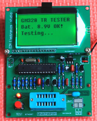 Digital Combo Component Tester Transitor Diode Inductor LCR Capacitor ESR Meter