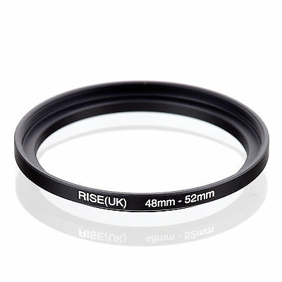 48mm to 52mm 48-52 48-52mm48mm-52mm Stepping Step Up Filter Ring Adapter