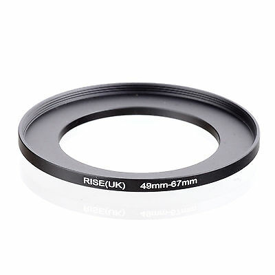 49mm to 67mm 49-67 49-67mm49mm-67mm Stepping Step Up Filter Ring Adapter