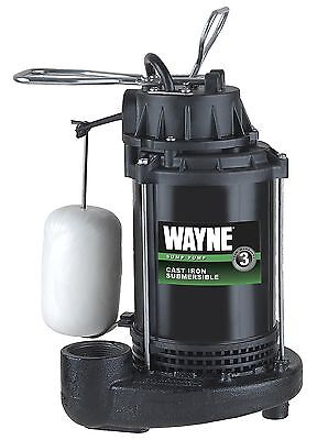 Wayne Pump 1/2hp Cast Iron Sump Pump