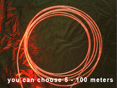 5meters 1.5mm Side Glow PMMA Fiber Optic Cable for Star Ceiling Fiber Lighting