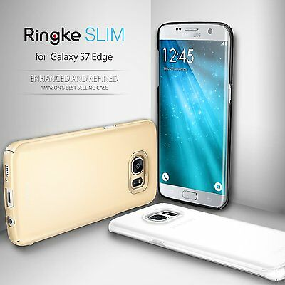Ringke Dual Coated Ultra Slim Hard Thin Cover For Samsung Galaxy S7 S7 Edge Case