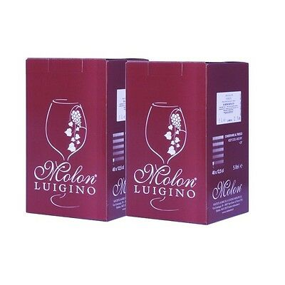 2 Bag in Box Molon 5 lt - Raboso IGT