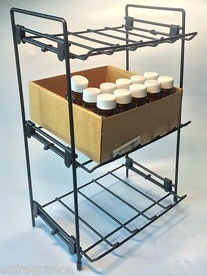"Store Display Fixtures COUNTER TOP WIRE RACK WITH 3 LEVELS 12"" tall"