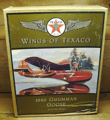 1996 Texaco Airplane  NOS Collectible  #4 in Series