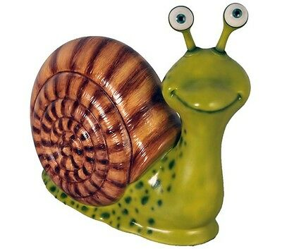 Snail Statue Male Garden Display Prop