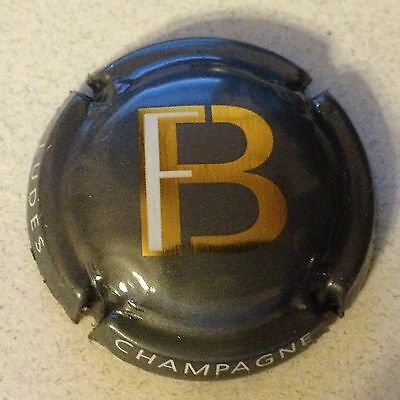 Capsule de champagne FORGET BRIMONT (6. fond anthracite)