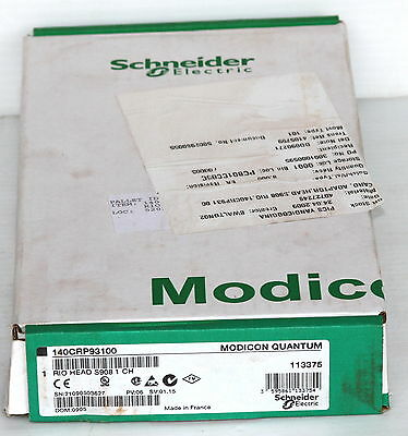 Schneider Modicon Quantum 140-CRP-931-00 RIO Head S908 1ch Interface *NEW*
