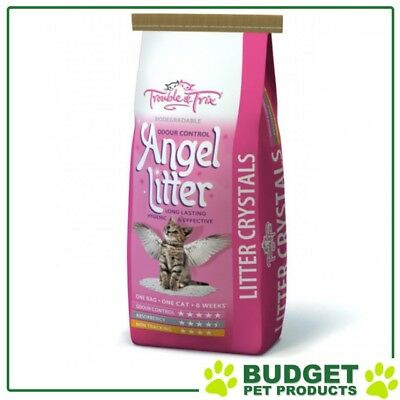Trouble & Trix Angel Crystal Lavender Scent Litter 15L