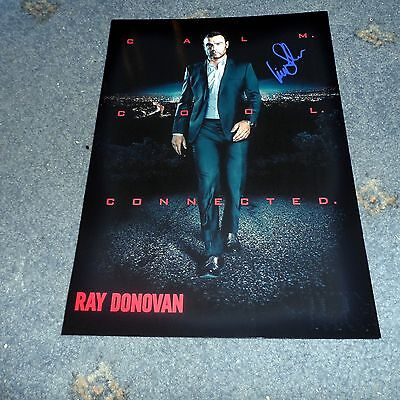 "Ray Donovan Pp Signed 12""x8"" A4 Photo Poster Liev Schreiber"