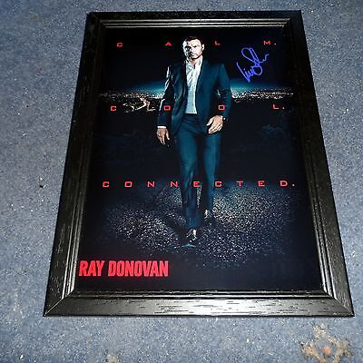 "Ray Donovan Pp Signed Framed A4 12""x8"" Photo Poster Liev Schreiber"