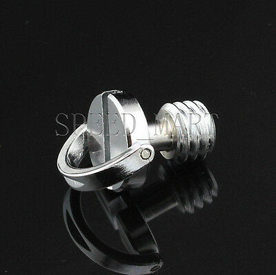 "3/8"" D-Ring Screw Stainless Steel For Camera Tripod Monopod Quick Release Plate"