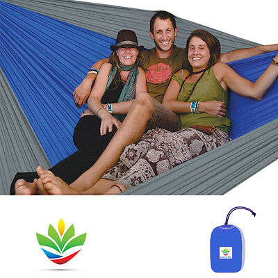 Hammock Bliss Triple - The Largest Portable Camping Hammock In The Universe