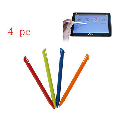 Plastic 4Pcs Colorful Touch Screen Pen Stylus For Nintendo 3DS LL/XL New