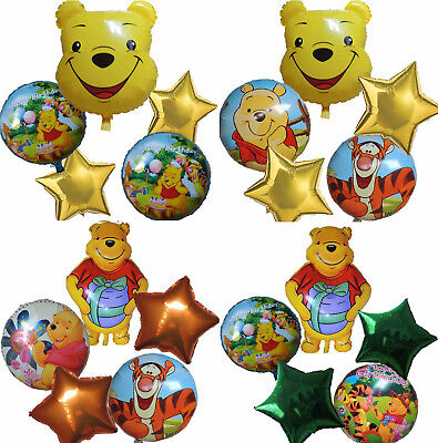 Winnie The Pooh & Tiger & Piglet Balloon Birthday Party Gift Centerpiece Decor