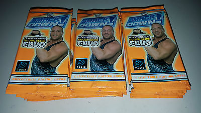 Smackdown Wrestling Super Fluo Collectable Playing Cards - 28 Bustine
