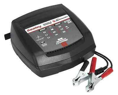 Sealey Schumacher Intelligent Speed Charge Battery Charger 10Amp 6/12V SCI10
