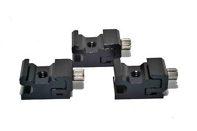 3x Adjustable Speedlite Cold Shoe 1/4 Screw to Flash Hot Shoe Mount Adapter