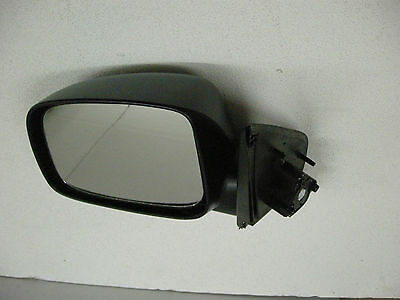 Door//Wing Mirror Black Manual L//H N//S For Mitsubishi L200 K74 2.5TD 1998-2006