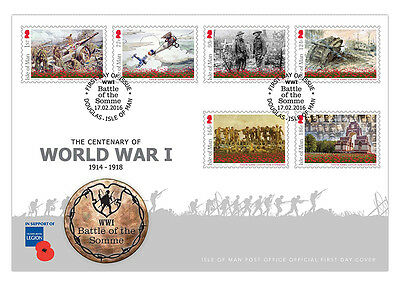 Battle of the Somme First Day Cover (UD91)