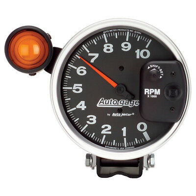 """Auto Meter Tachometer Gauge 233904; Auto Gage 0 to 10000 RPM 5"""" Electrical"""