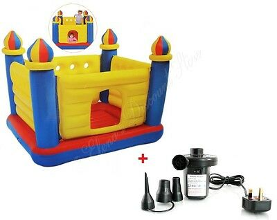 Childrens Kids Inflatable Bouncy Castle Playhouse Trampoline Jumper Ball Pit New