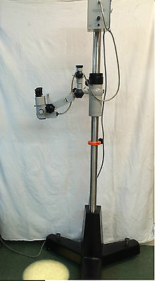 Zeiss Opmi 1 Fc  Surgical Microscope Floor Stand