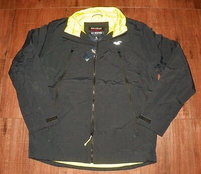 Men Hollister By Abercrombie All-weather Jacket New With Tags, Sizes S, L and XL