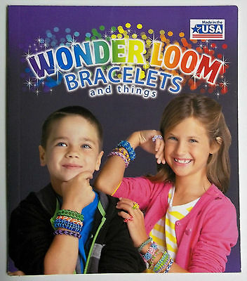 Wonder Loom Rubberband Jewelry Instruction Book by Leisure Art New