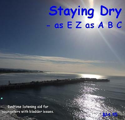 Stop Bed Wetting - Staying Dry as EZ as ABC by Dr Ginny Lucas Hypnosis CD