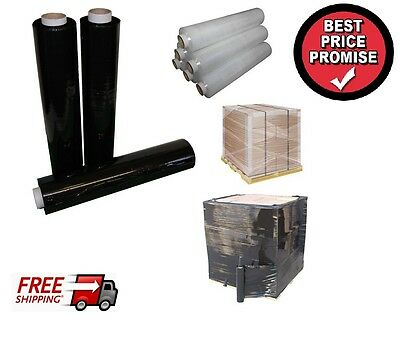 Black/clear/blue Pallet Stretch Shrink Wrap Parcel Packing Cling Film400Mm X250M