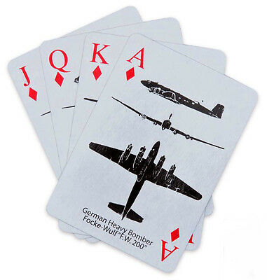 Spotting Recognition Cards - WWII Aircraft - German, British, Japan, Italian, US