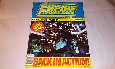 Star Wars The Empire Strikes Back Official Poster Monthly Issue 1 1980 MINT COND