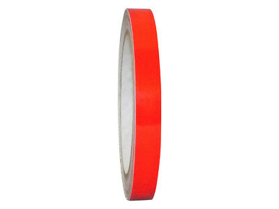 Red Engineer Grade Retro Reflective Pinstripe Tape: 1/2 in. x 30 ft.