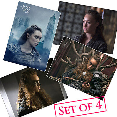 Alycia Debnam-Carey HQ Posters A4 NEW 2016 TV Show Lexa The 100 Sexy Hot Babe