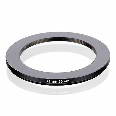 RISE (UK) 72-55MM 72MM-55MM 72 to 55 Step Down Ring Filter Adapter