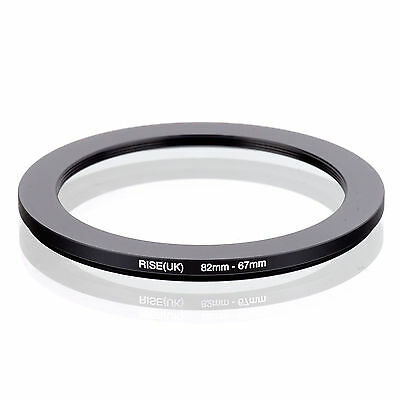 RISE (UK) 82-67MM 82MM-67MM 82 to 67 Step Down Ring Filter Adapter