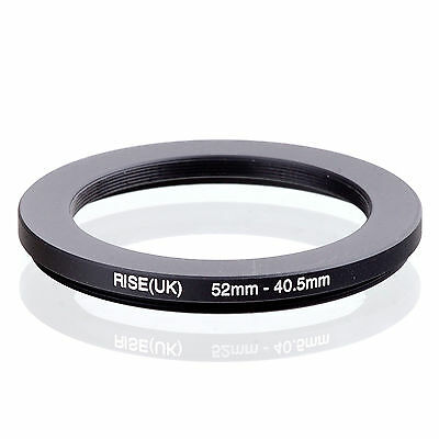 RISE (UK) 52-40.5MM 52MM-40.5MM 52 to 40.5 Step Down Ring Filter Adapter