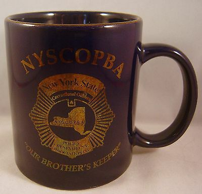 New York State Correctional Officers Mug Police Nyscopba Our Brother'S Keeper