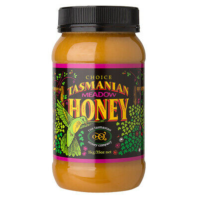 NEW Tasmanian Honey Meadow Honey 1kg