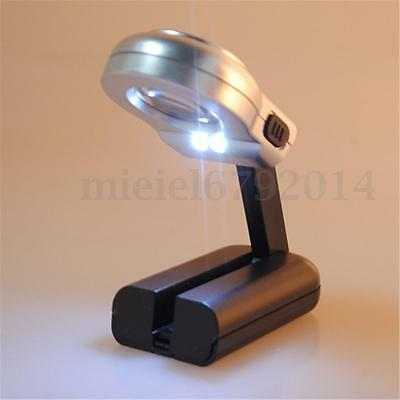16X Magnifier For Reading Giant Large Hands Free Magnifying Glass With LED Light